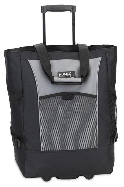 PUNTA wheel Nákupní taška na kolečkách 06980-0117 černo-šedá