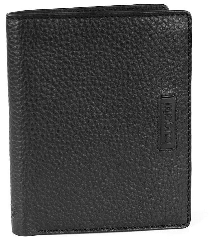 Bugatti Pánská kožená peněženka Pregio 49312101 černá