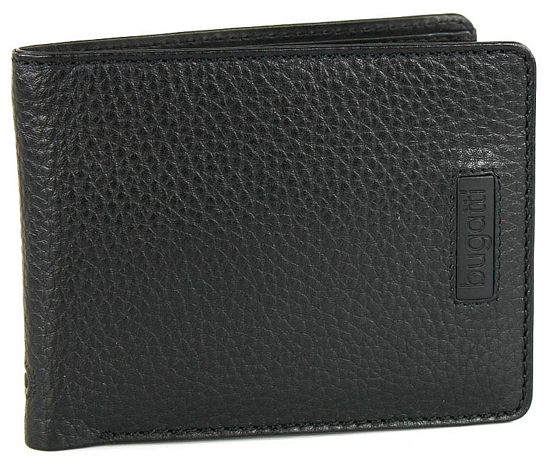 Bugatti Pánská kožená peněženka Pregio 49312301 černá