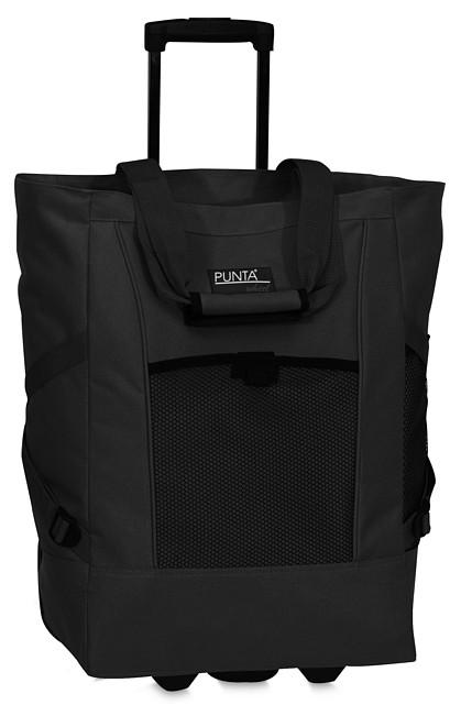 92e0eee6304 PUNTA wheel Nákupní taška na kolečkách 06980-0100 černá - UNIVARO