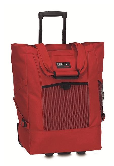 PUNTA wheel Nákupní taška na kolečkách 06980-0200 červená