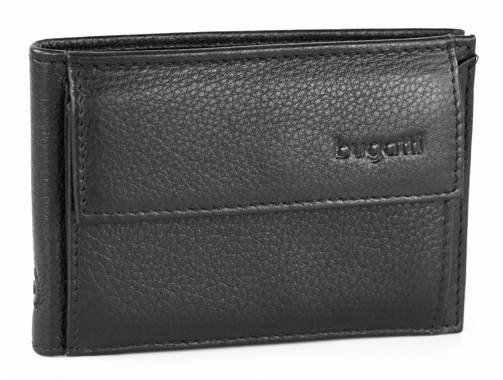 Bugatti Pánská kožená peněženka SEMPRE 49118001 černá