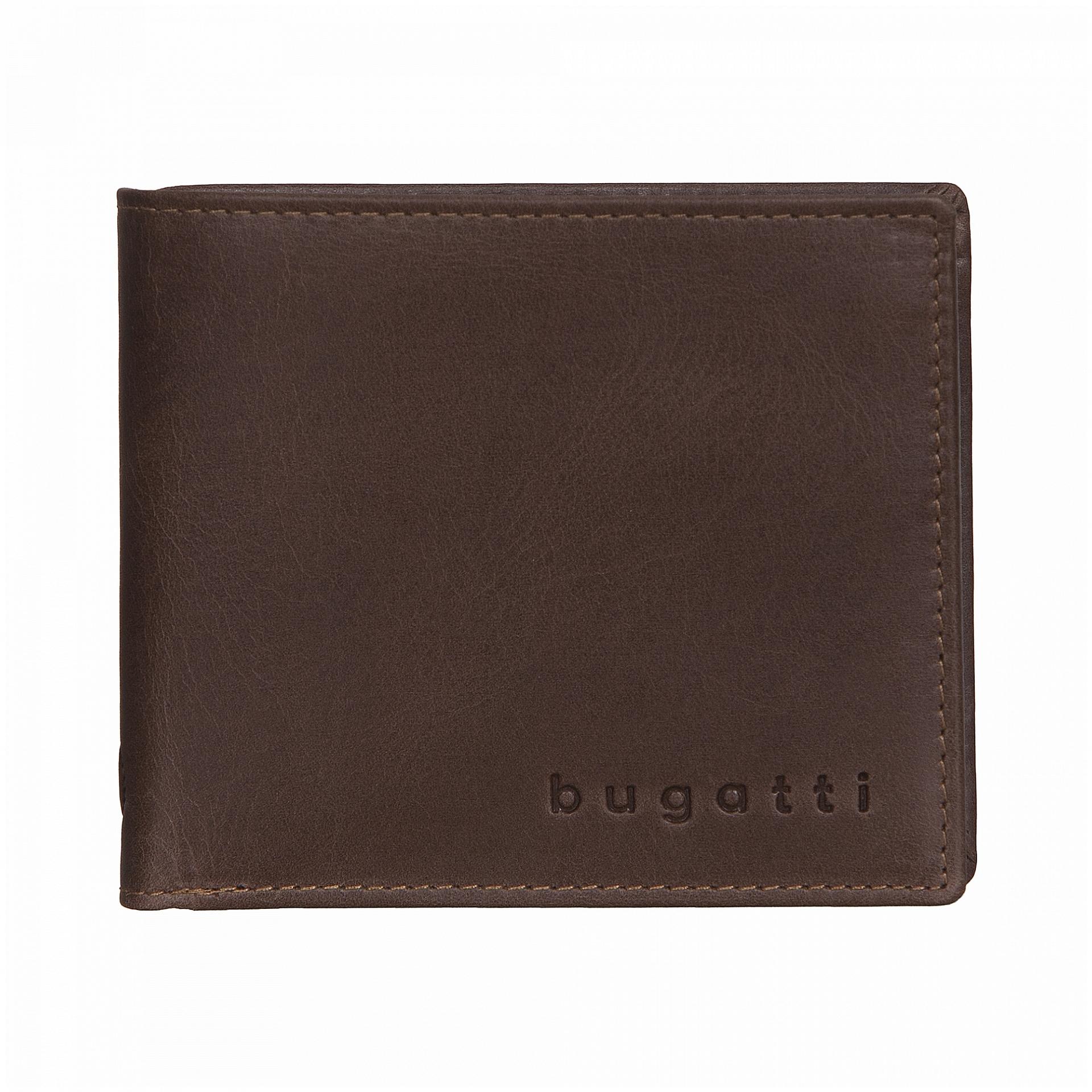 Bugatti Pánská kožená peněženka VOLO 49218202 hnědá