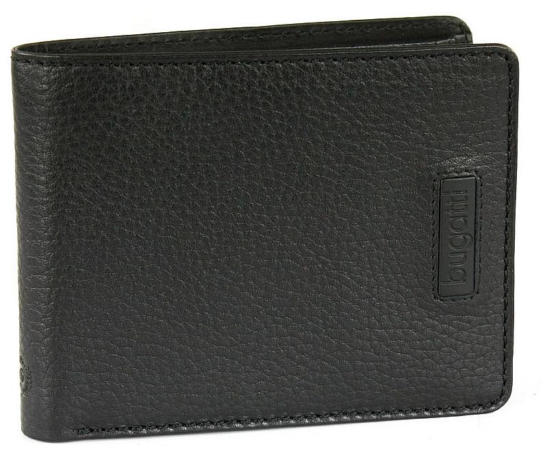 Bugatti Pánská kožená peněženka Pregio 49312201 černá