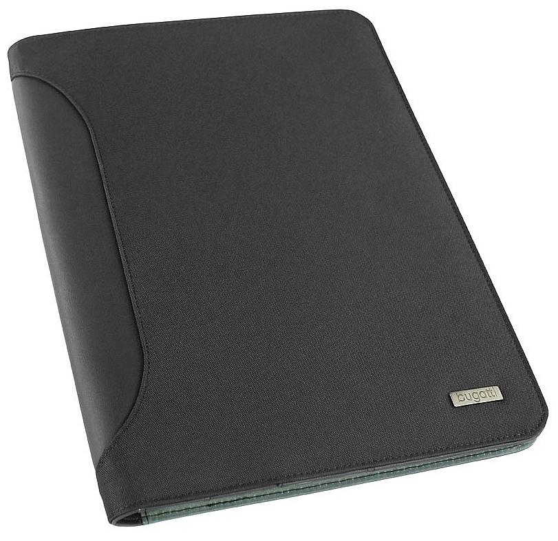 Bugatti Konferenční desky s blokem a kalkulačkou Ufficio 49112701 černá