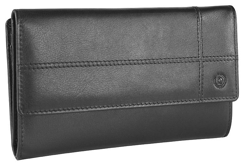 Bugatti Dámská kožená peněženka BRADFORD 49311001 černá