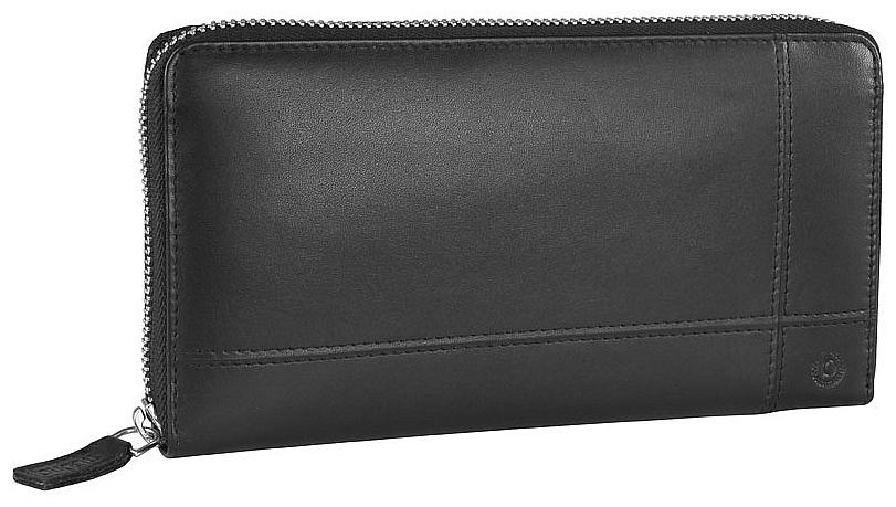 Bugatti Dámská kožená zipová peněženka BRADFORD 49310801 černá