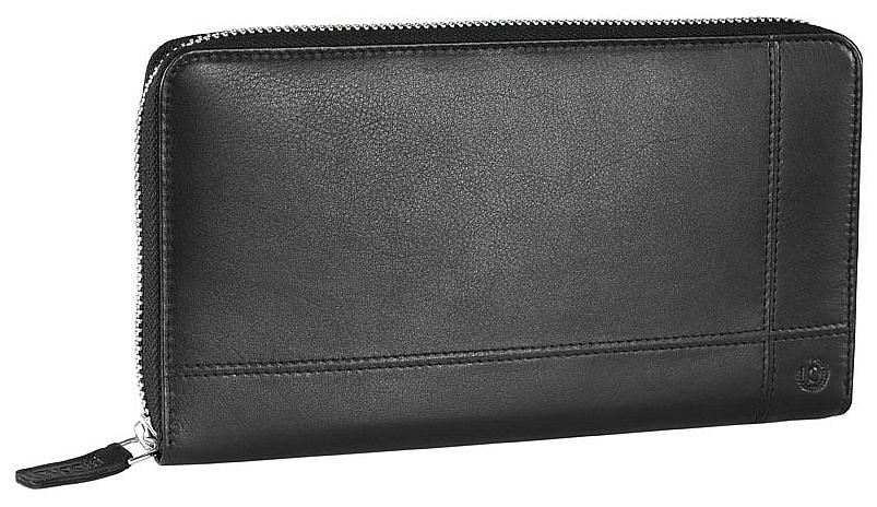 Bugatti Velká dámská kožená peněženka BRADFORD 49311101 černá