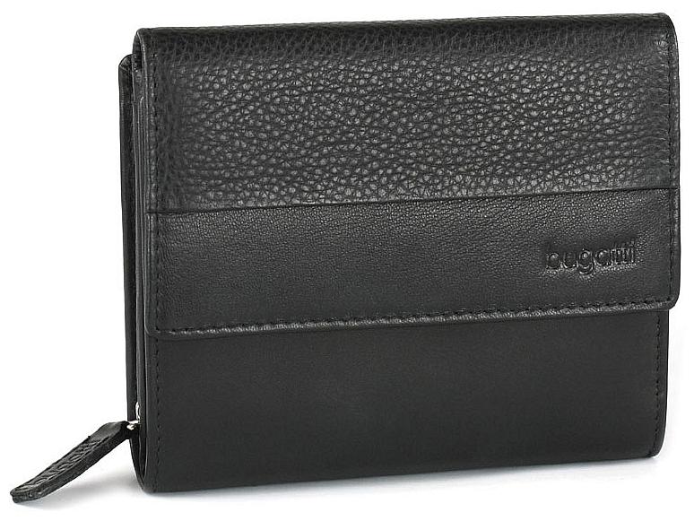 Bugatti Dámská kožená peněženka ATLANTA 49320901 černá