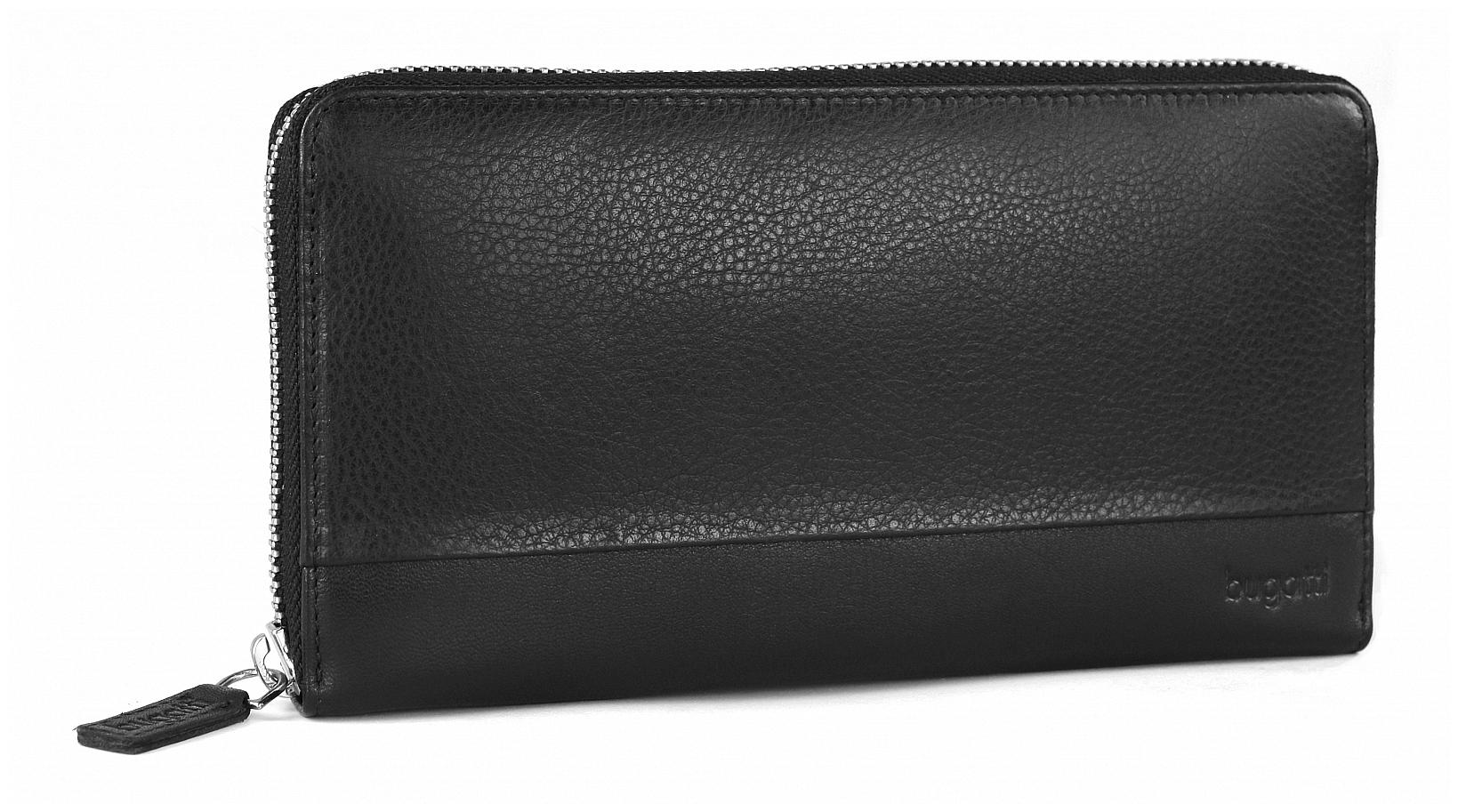 Bugatti Velká dámská kožená peněženka ATLANTA 49320801 černá