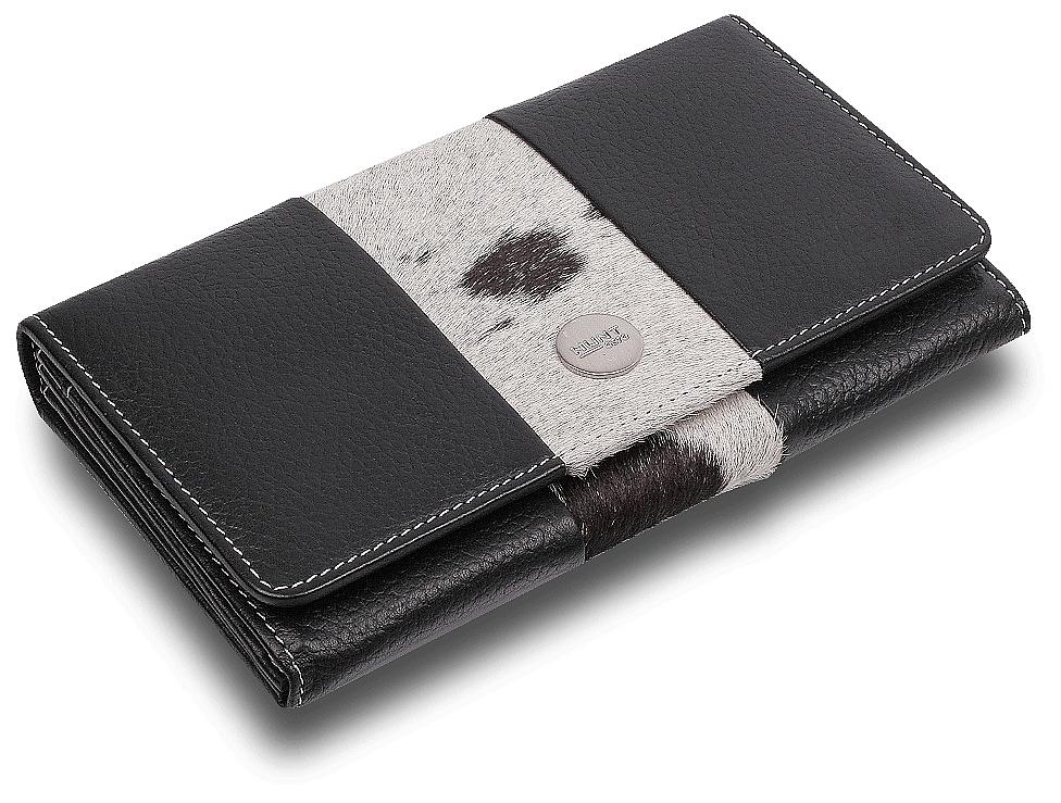 BULL&HUNT Dámská kožená peněženka 42-0201 černá