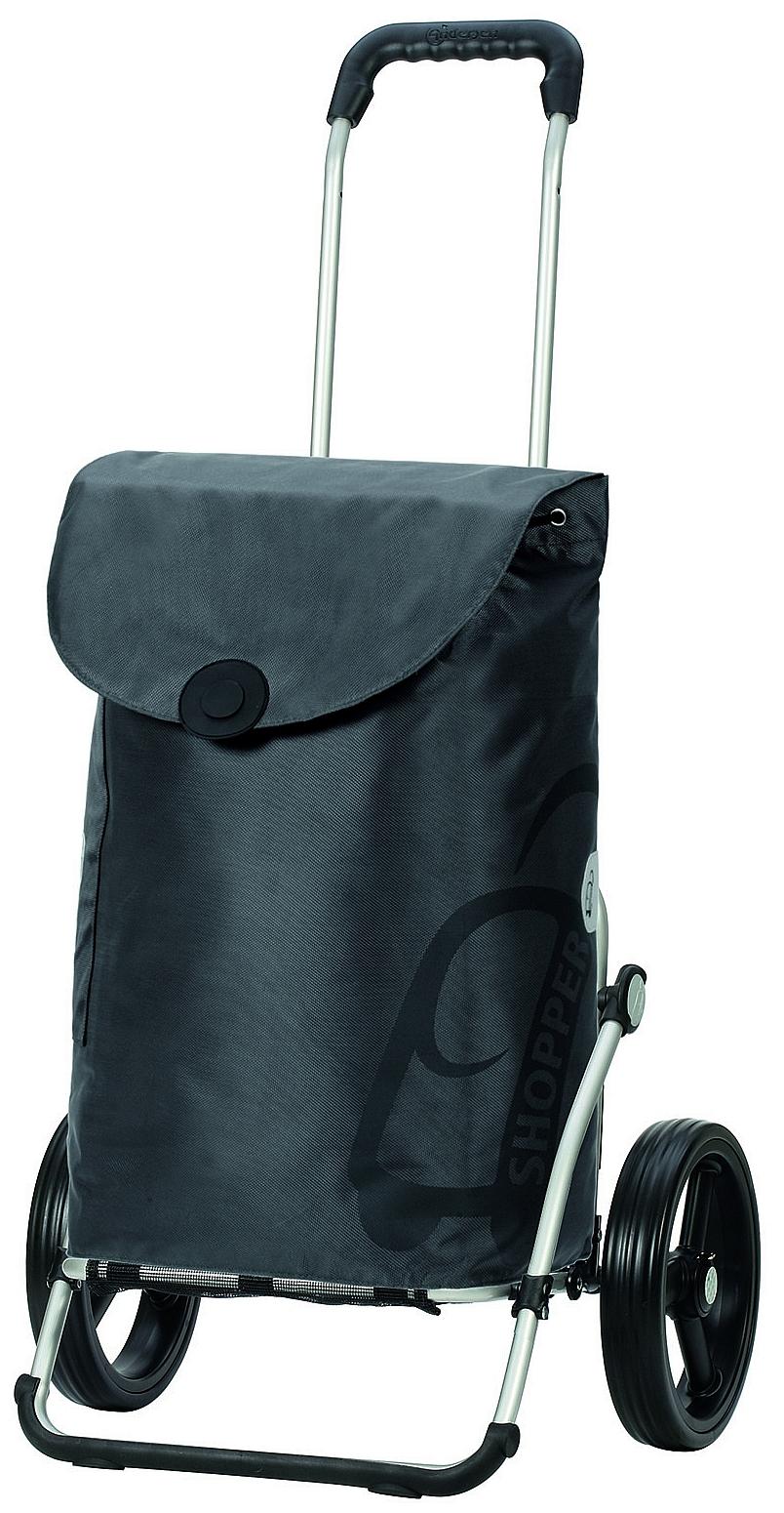 Andersen Nákupní taška na velkých kolečkách ROYAL SHOPPER® PEPE 166-050-82 šedá