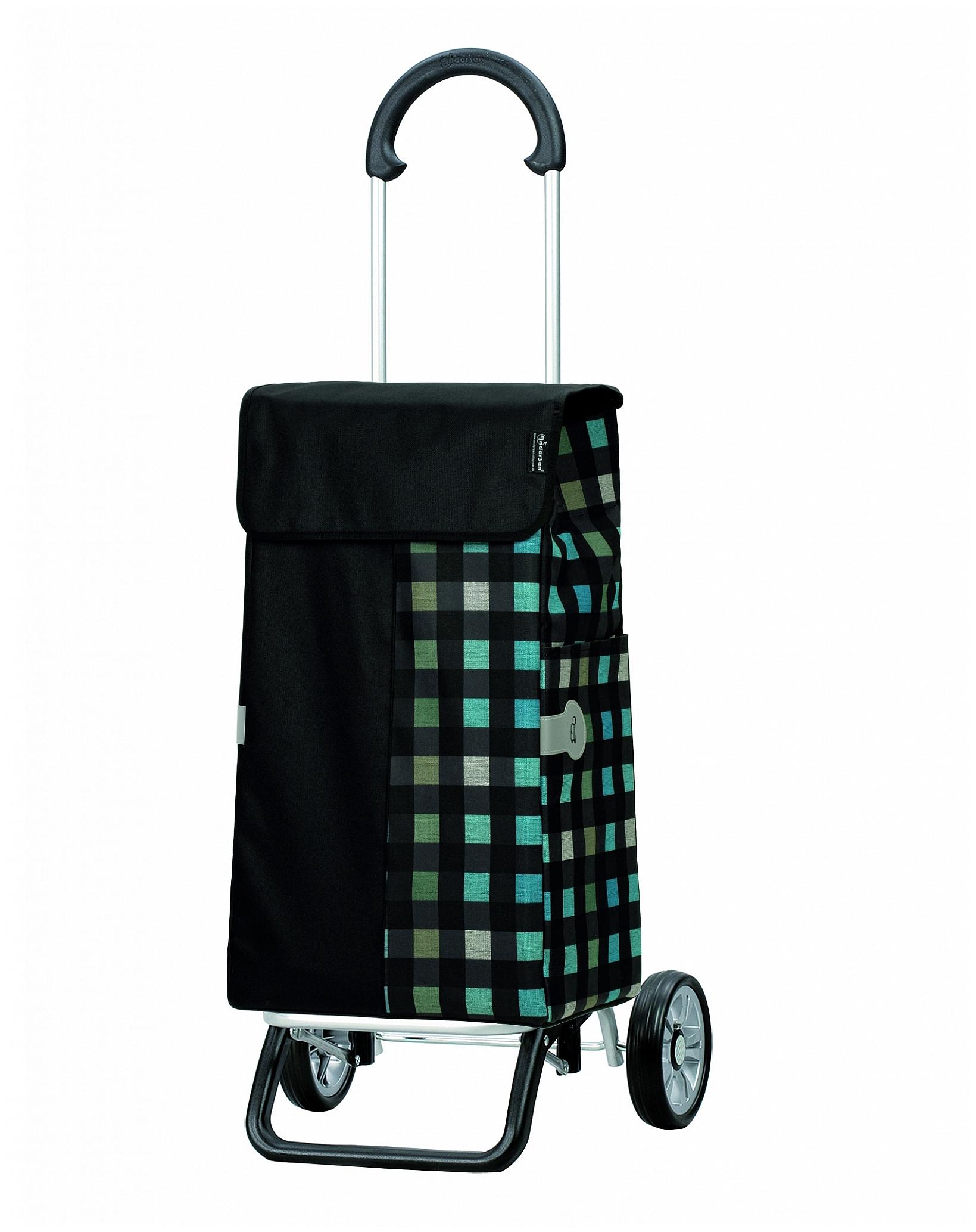 Andersen Nákupní taška na kolečkách SCALA SHOPPER® PLUS DIMI 133-111-80 černá
