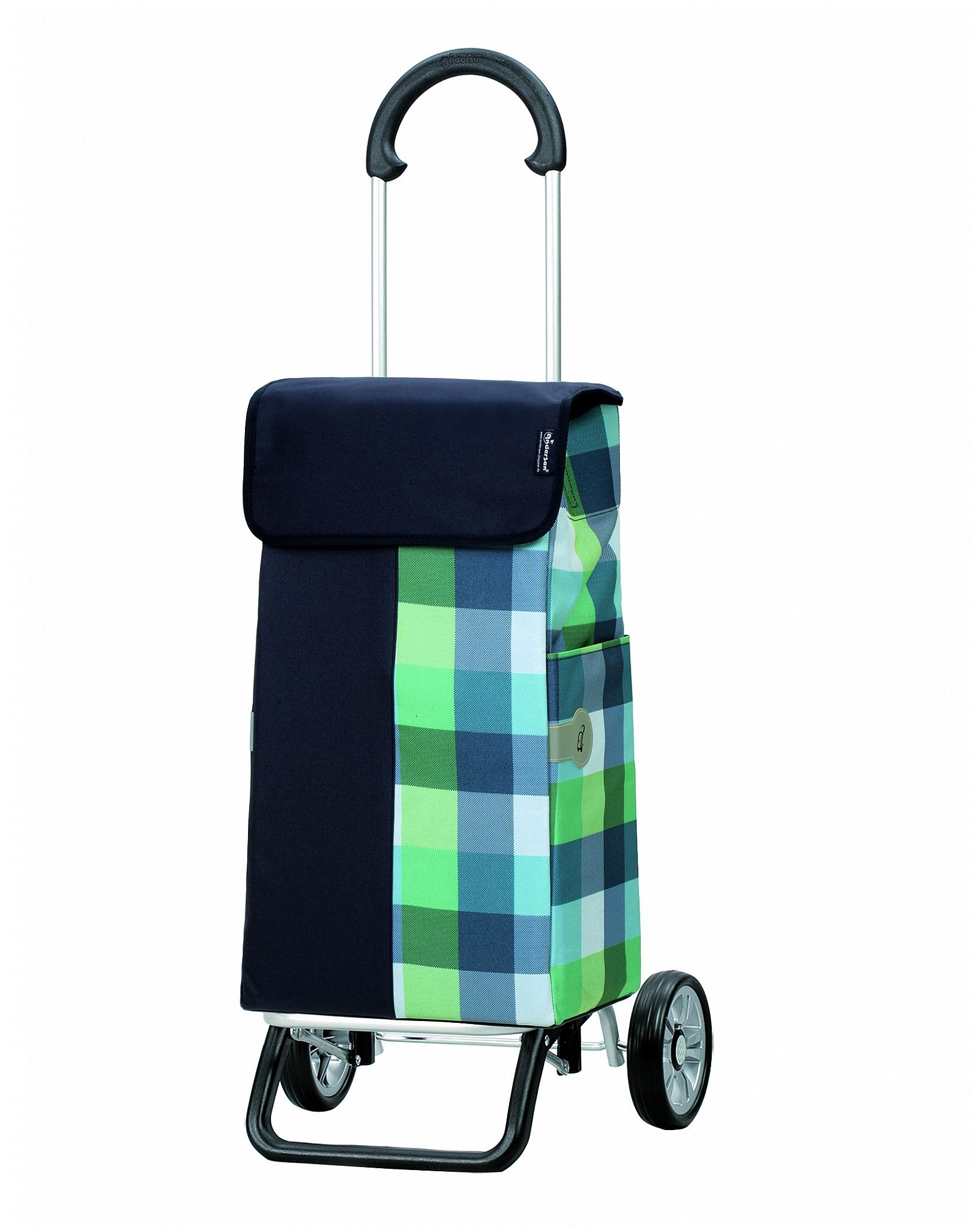 Andersen Nákupní taška na kolečkách SCALA SHOPPER® PLUS DIMI 133-111-90 modrá