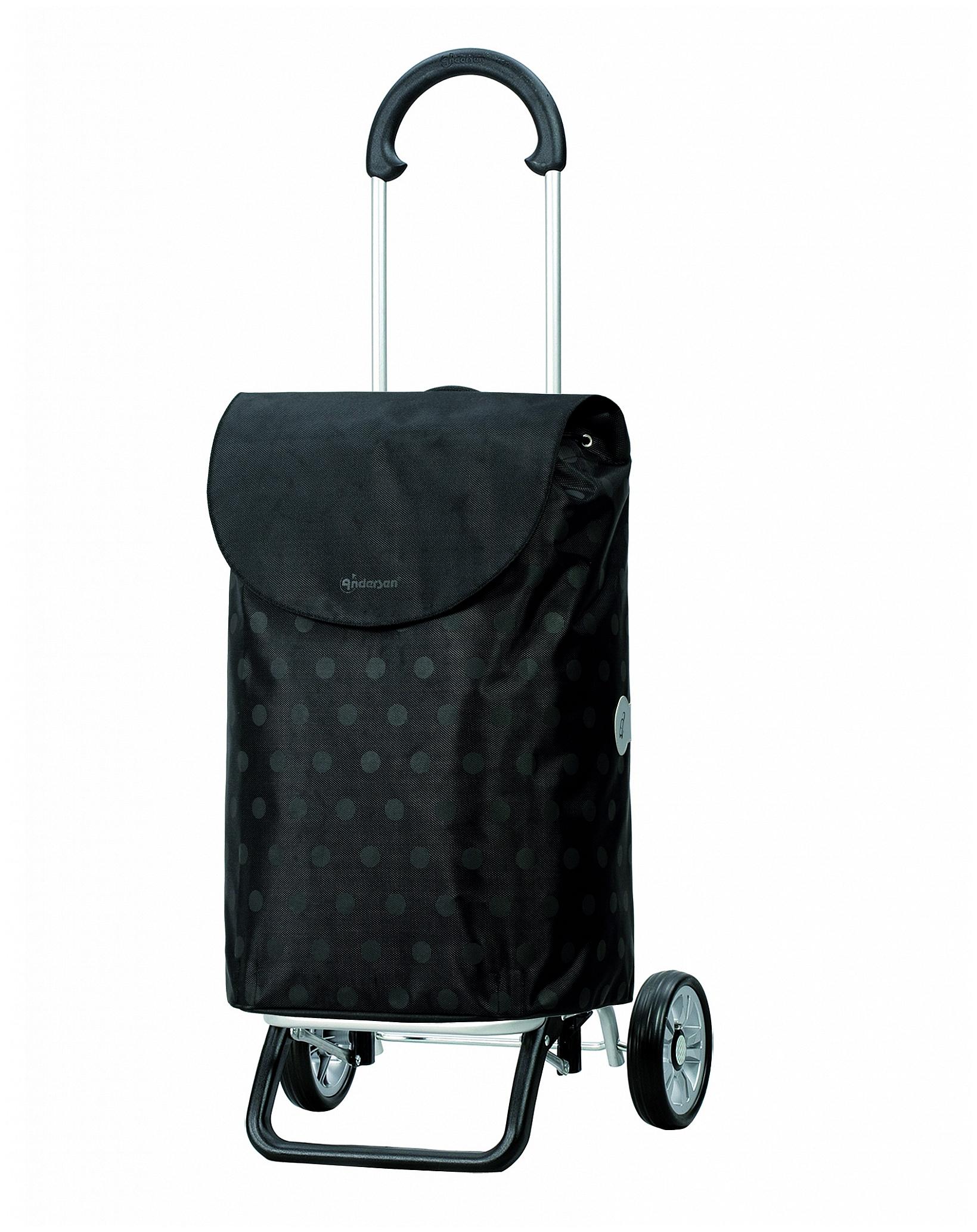 Andersen Nákupní taška na kolečkách SCALA SHOPPER® PLUS GITTI 133-035-80 černá