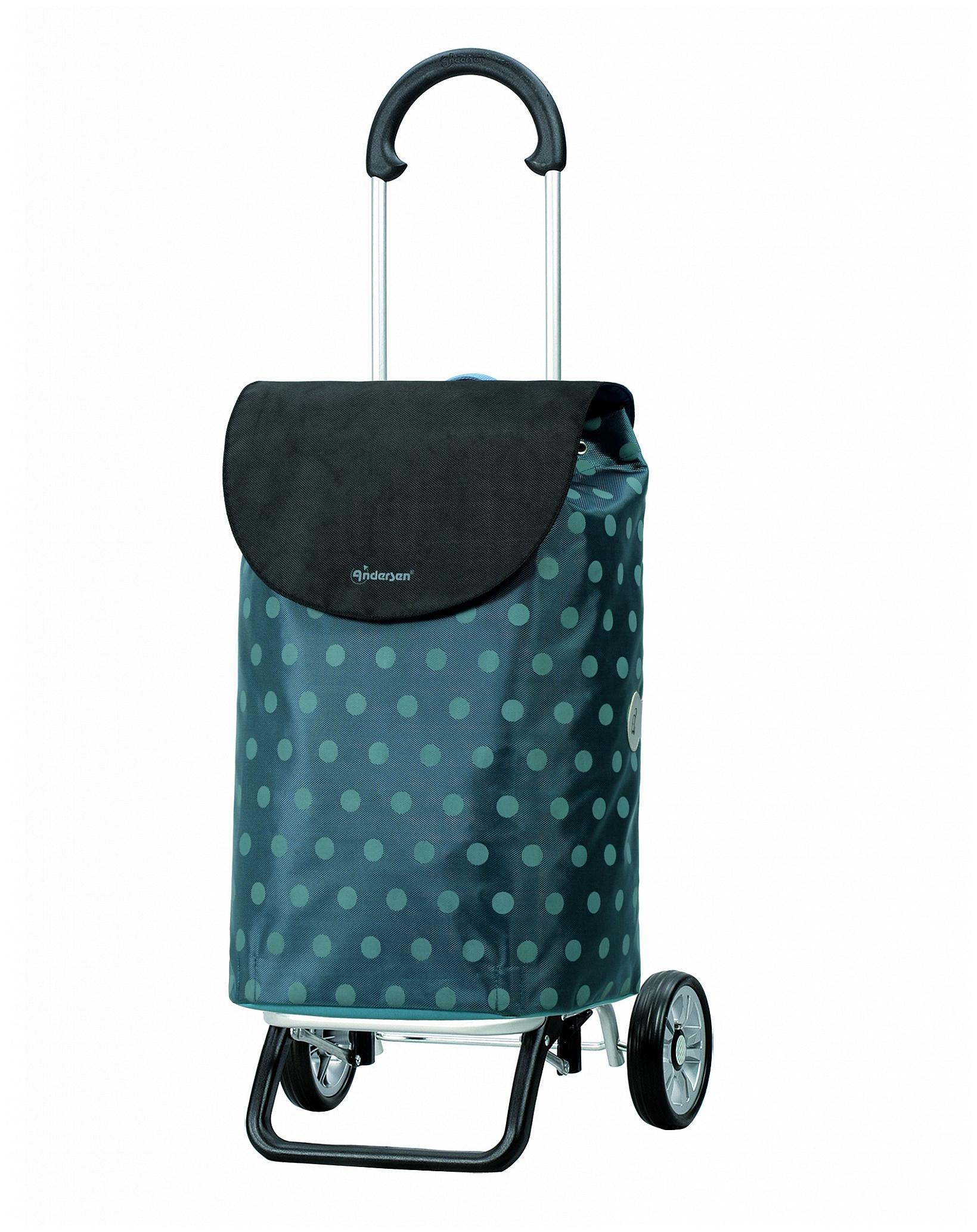 Andersen Nákupní taška na kolečkách SCALA SHOPPER® PLUS GITTI 133-035-90 modrá