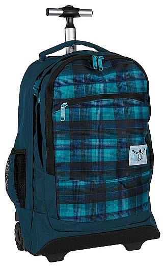 CHIEMSEE Batoh na kolečkách s vysouvací rukojetí WHEELY 5021005-00024 modrý