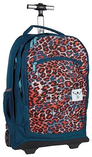 CHIEMSEE Batoh na kolečkách s vysouvací rukojetí WHEELY 5021005-00091 modrá-multicolor
