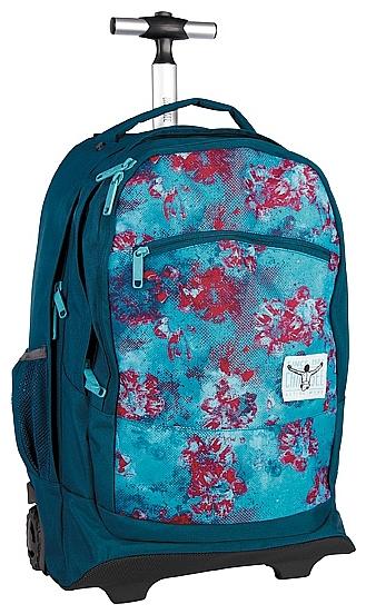 CHIEMSEE Batoh na kolečkách s vysouvací rukojetí WHEELY 5021005-00231 modro-červený
