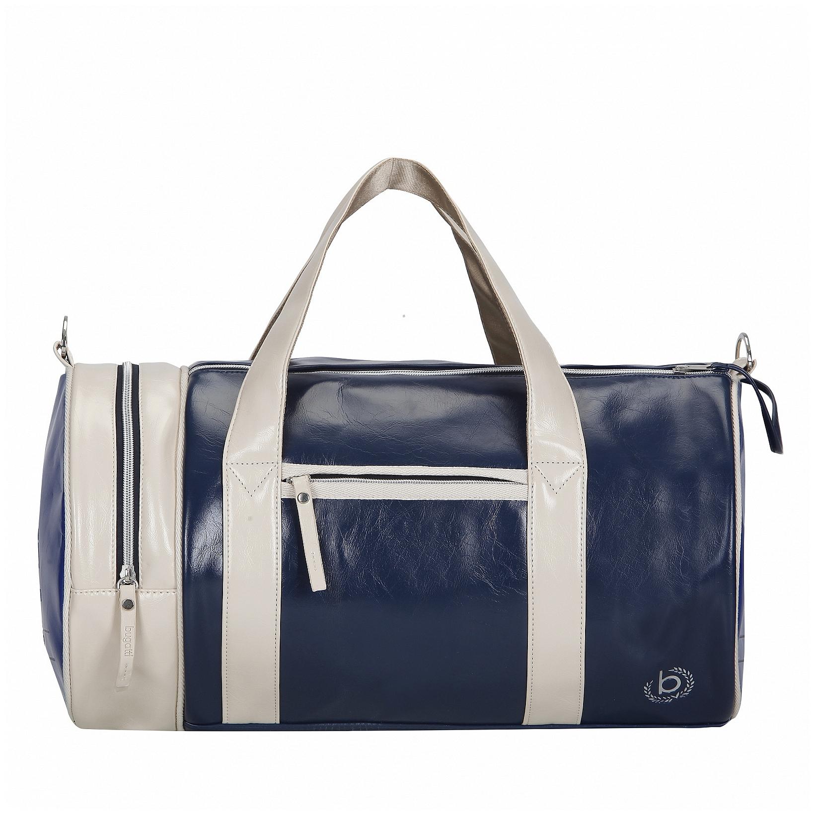 Bugatti Sportovní taška Gioco 49823705 modro-bílá