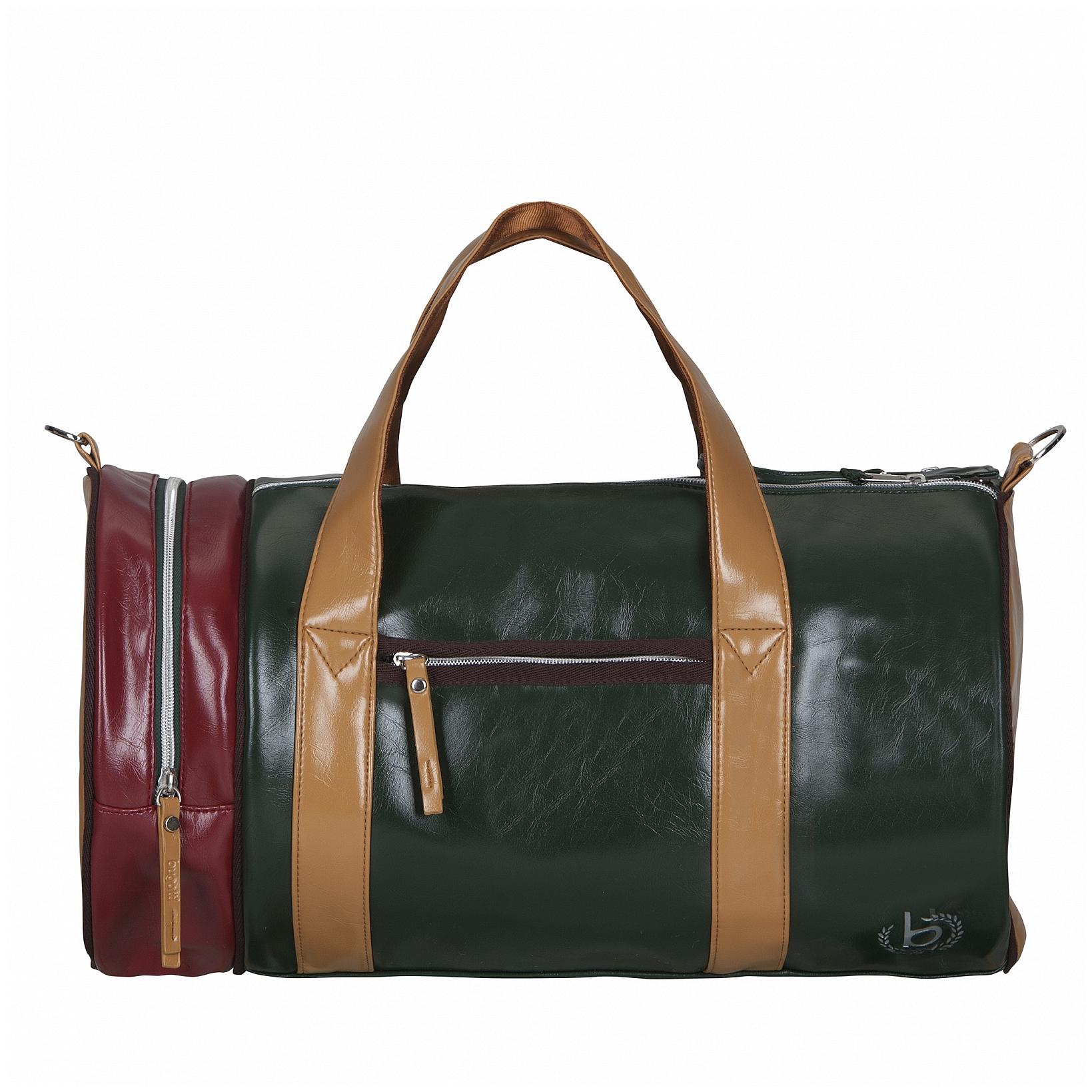 Bugatti Sportovní taška Gioco 49823710 zeleno-červená