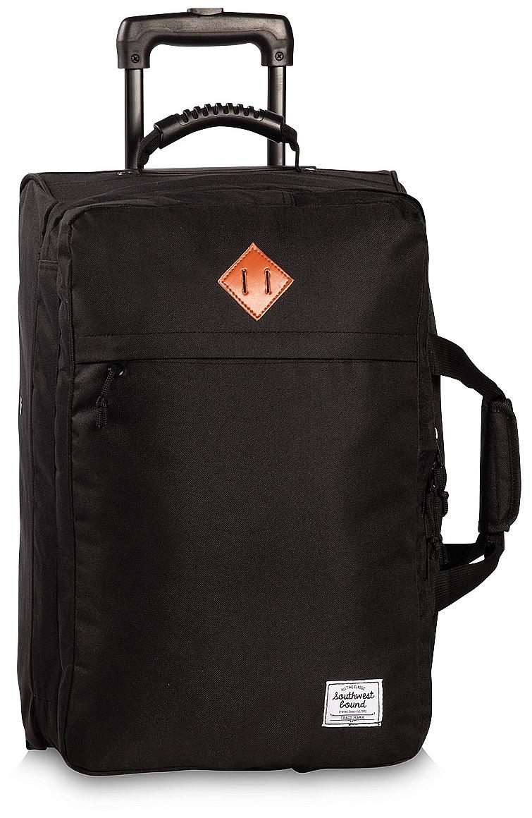 Southwest Cestovní taška na kolečkách 30292-0100 černá
