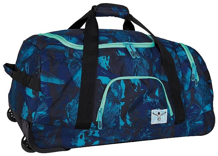 CHIEMSEE Cestovní taška na kolečkách ROLLING DUFFLE LARGE 5021003-00041 černo-modrá