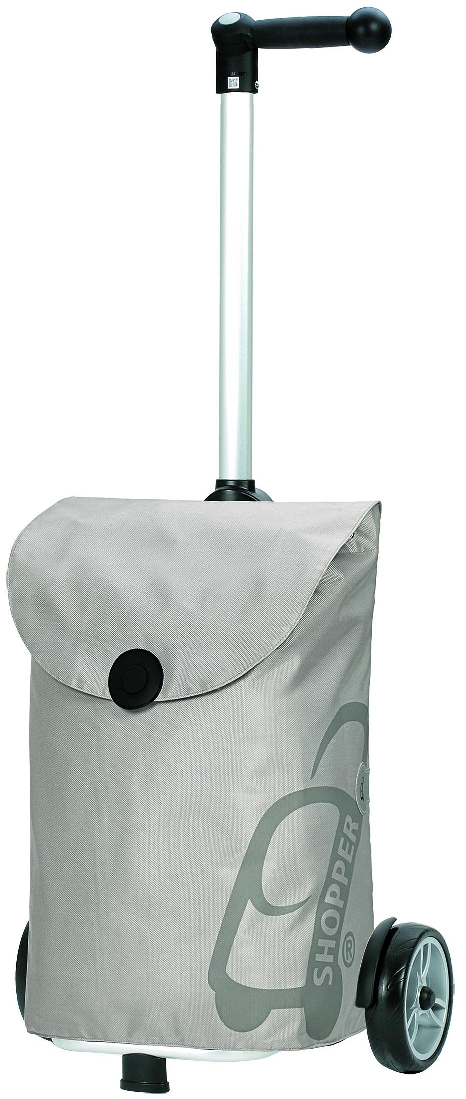 Andersen Nákupní taška na kolečkách UNUS SHOPPER® PEPE 140-050-20 stříbrná