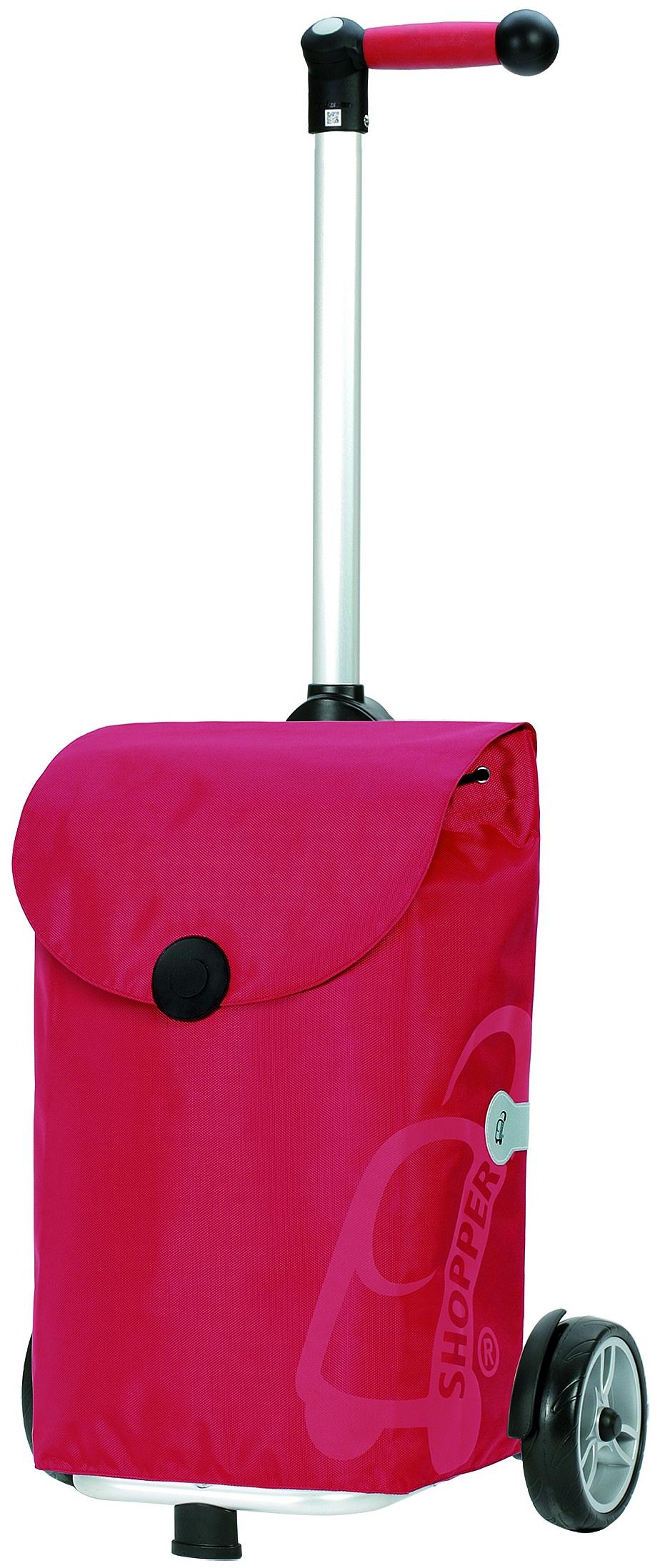 Andersen Nákupní taška na kolečkách UNUS SHOPPER® PEPE 140-050-70 červená