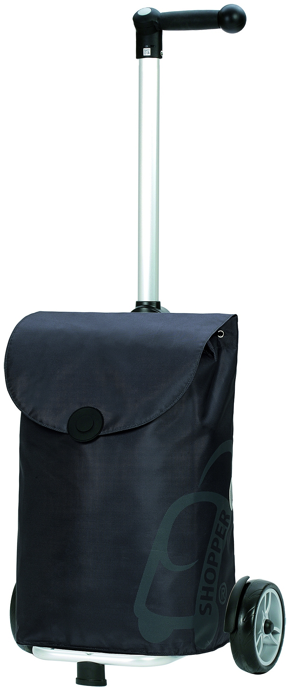 Andersen Nákupní taška na kolečkách UNUS SHOPPER® PEPE 140-050-81 šedá