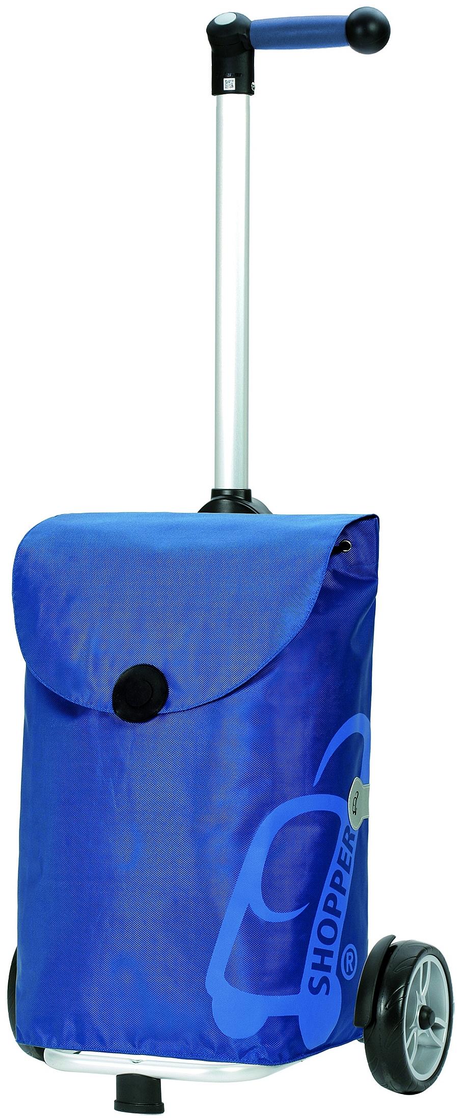 Andersen Nákupní taška na kolečkách UNUS SHOPPER® PEPE 140-050-90 modrá