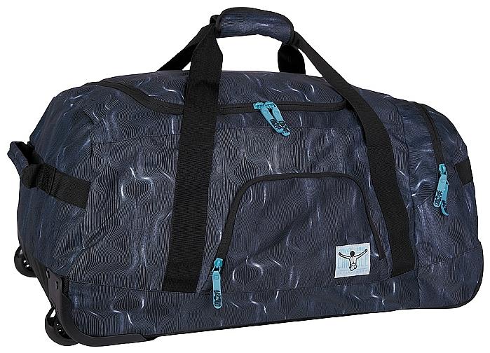 CHIEMSEE Cestovní taška na kolečkách ROLLING DUFFLE LARGE 5021003-00071 černá