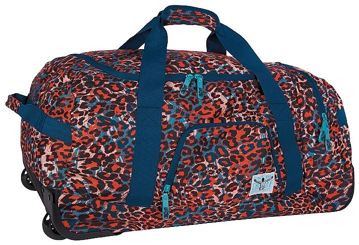 CHIEMSEE Cestovní taška na kolečkách ROLLING DUFFLE LARGE 5021003-00091 modrá-multicolor