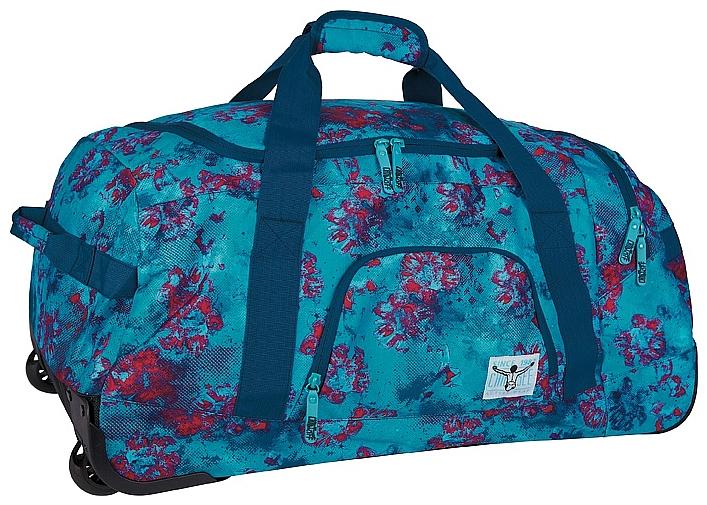 CHIEMSEE Cestovní taška na kolečkách ROLLING DUFFLE LARGE 5021003-00231 modro-červená