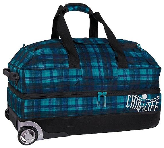 CHIEMSEE XXL cestovní taška na kolečkách PREMIUM TRAVELBAG 5021000-00024 modrá