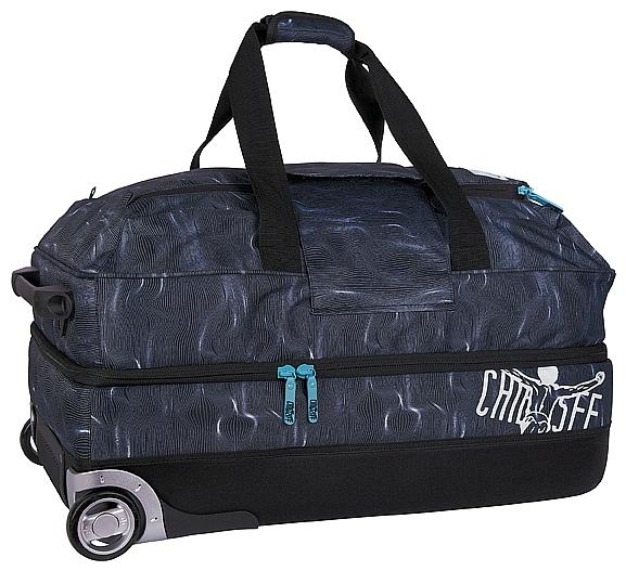 CHIEMSEE XXL cestovní taška na kolečkách PREMIUM TRAVELBAG 5021000-00071 černá