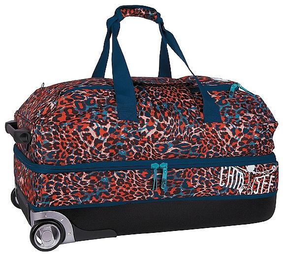 CHIEMSEE XXL cestovní taška na kolečkách PREMIUM TRAVELBAG 5021000-00091 modrá-multicolor
