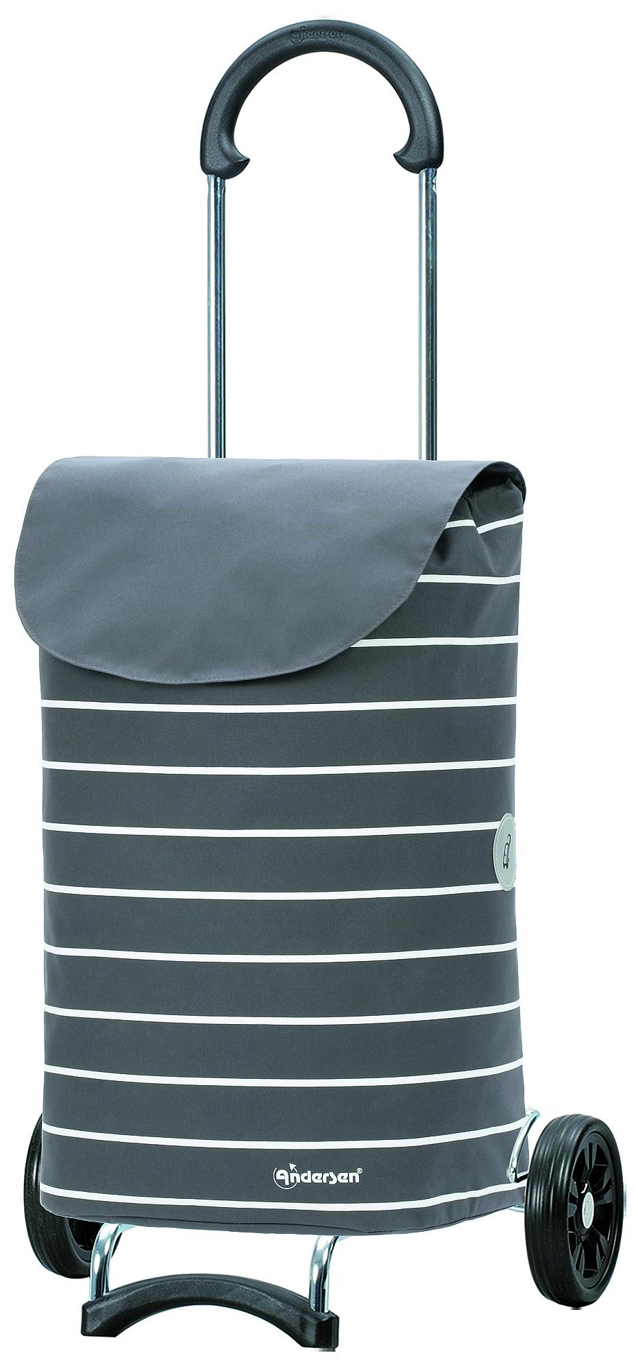 Andersen Nákupní taška na kolečkách SCALA SHOPPER® SYLT 112-117-20 šedá