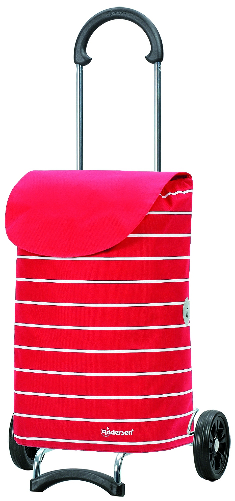Andersen Nákupní taška na kolečkách SCALA SHOPPER® SYLT 112-117-70 červená
