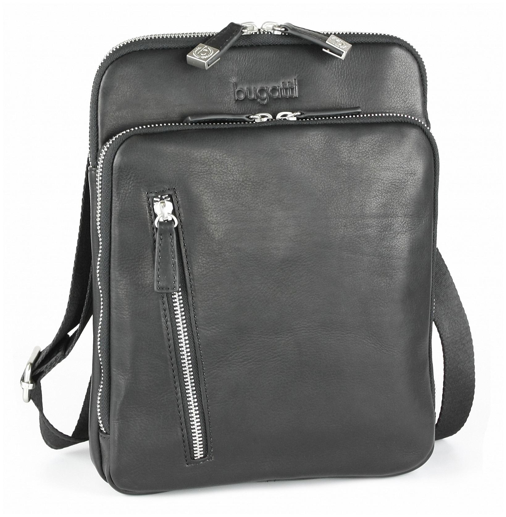 Bugatti Kožená taška na doklady Sartoria 49546201 černá