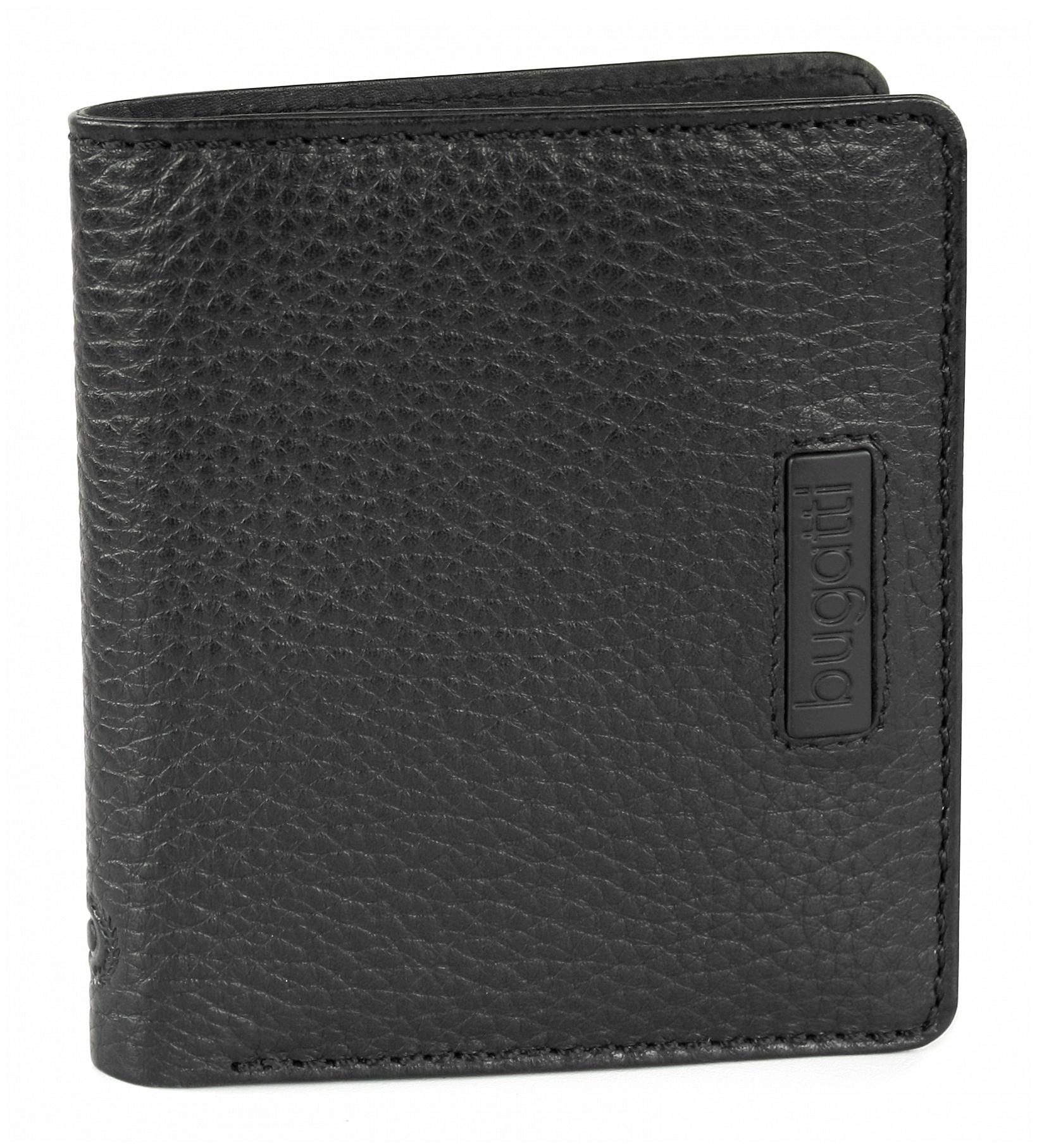Bugatti Pánská kožená peněženka Pregio 49312401 černá