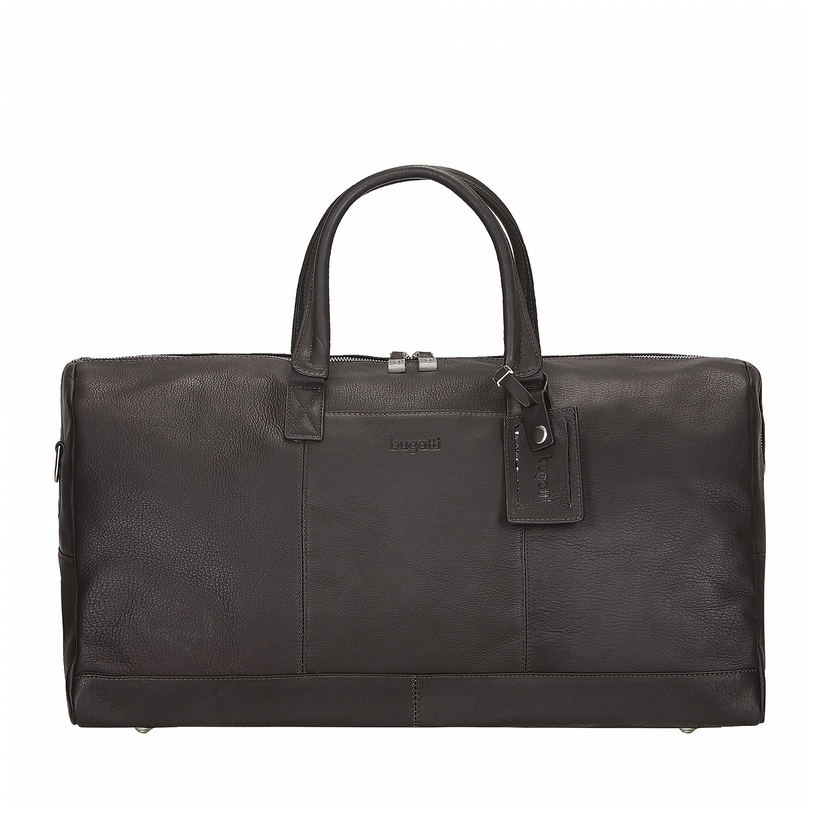 Bugatti Kožená cestovní taška SARTORIA 49546502 hnědá