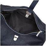 68fe9dcf416 ESTELLE Dámský kožený batoh do města 1317 modrá - UNIVARO