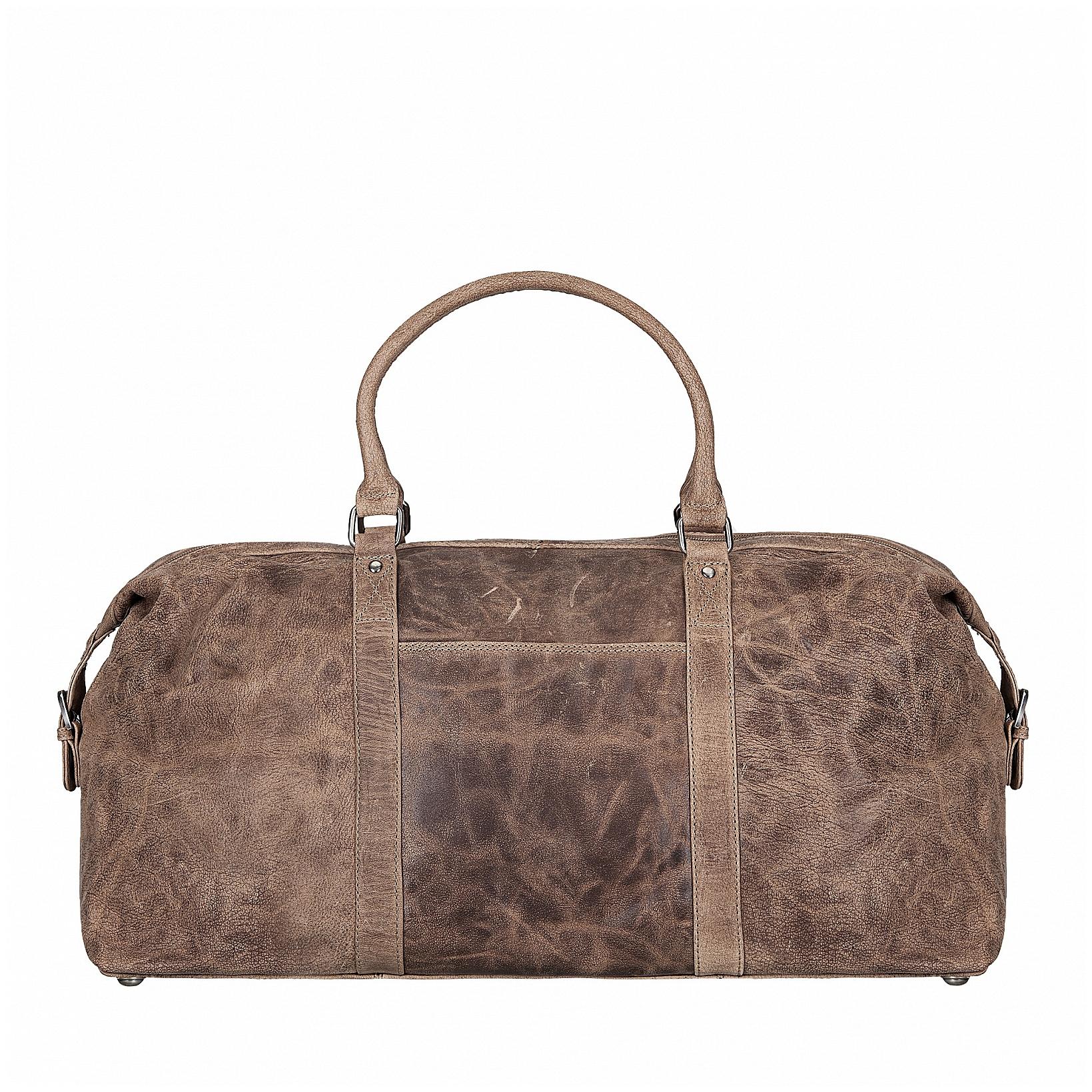 ESTELLE Cestovní taška z buvolí kůže 1278-05 hnědá