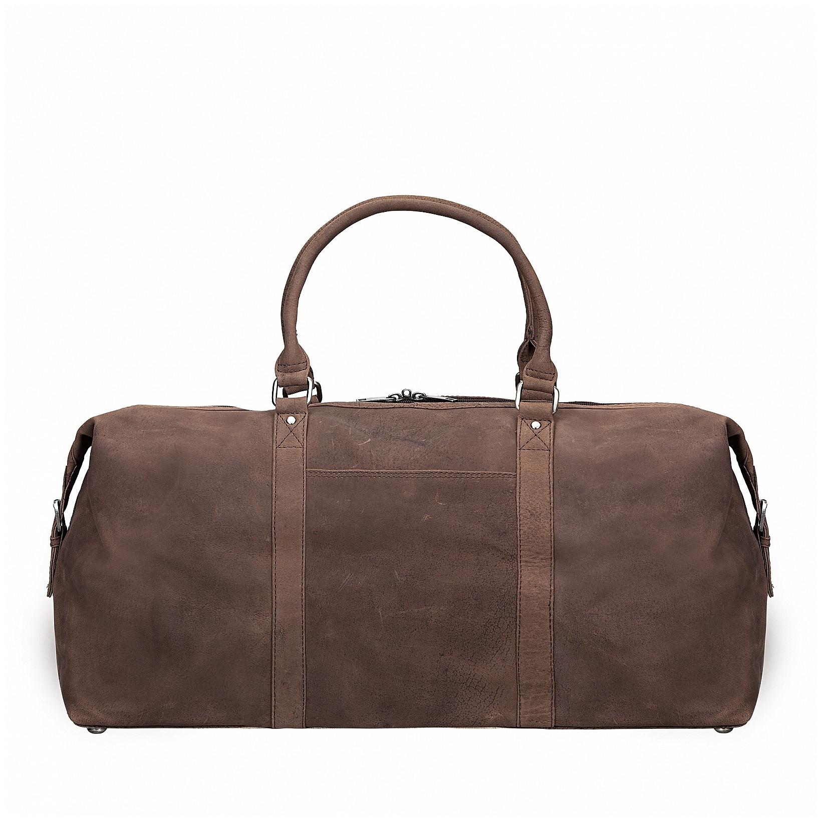 ESTELLE Cestovní taška z buvolí kůže 1278-86 hnědá