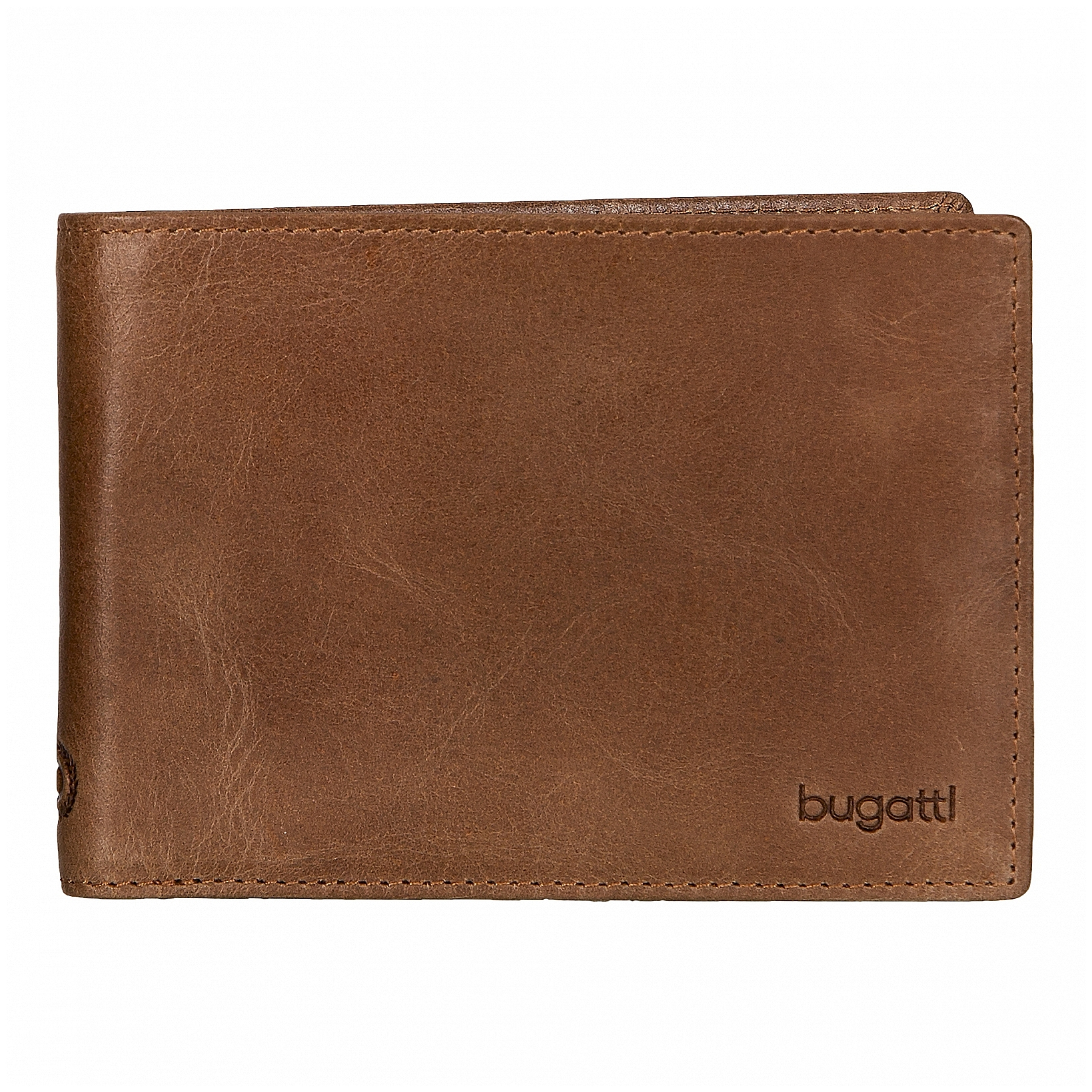 Bugatti Pánská kožená peněženka VOLO 49217607 koňak