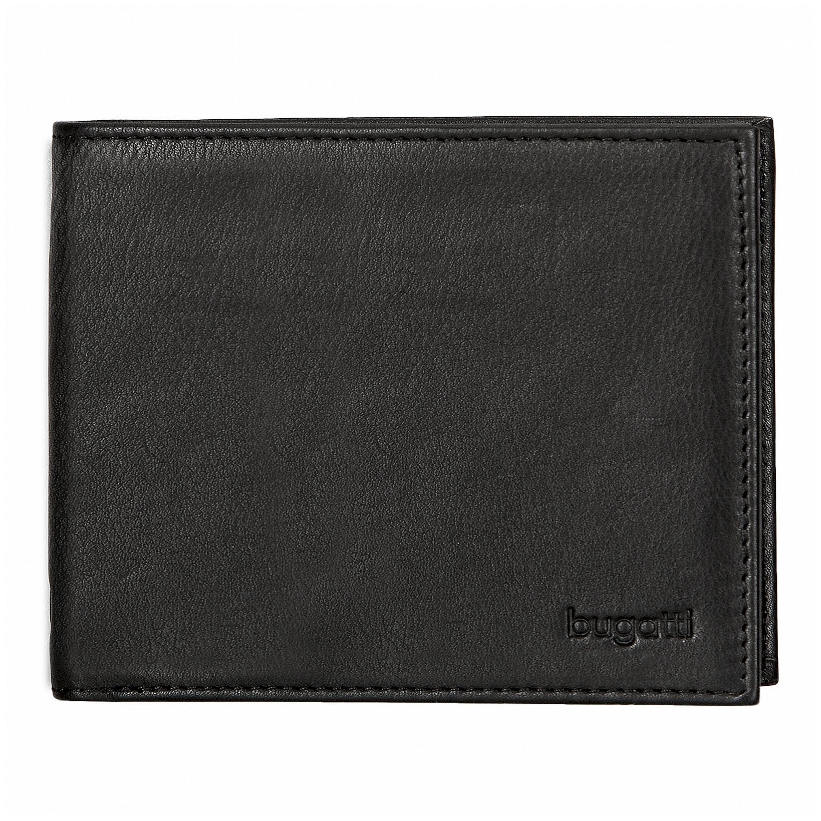 Bugatti Pánská kožená peněženka SEMPRE 49117801 černá