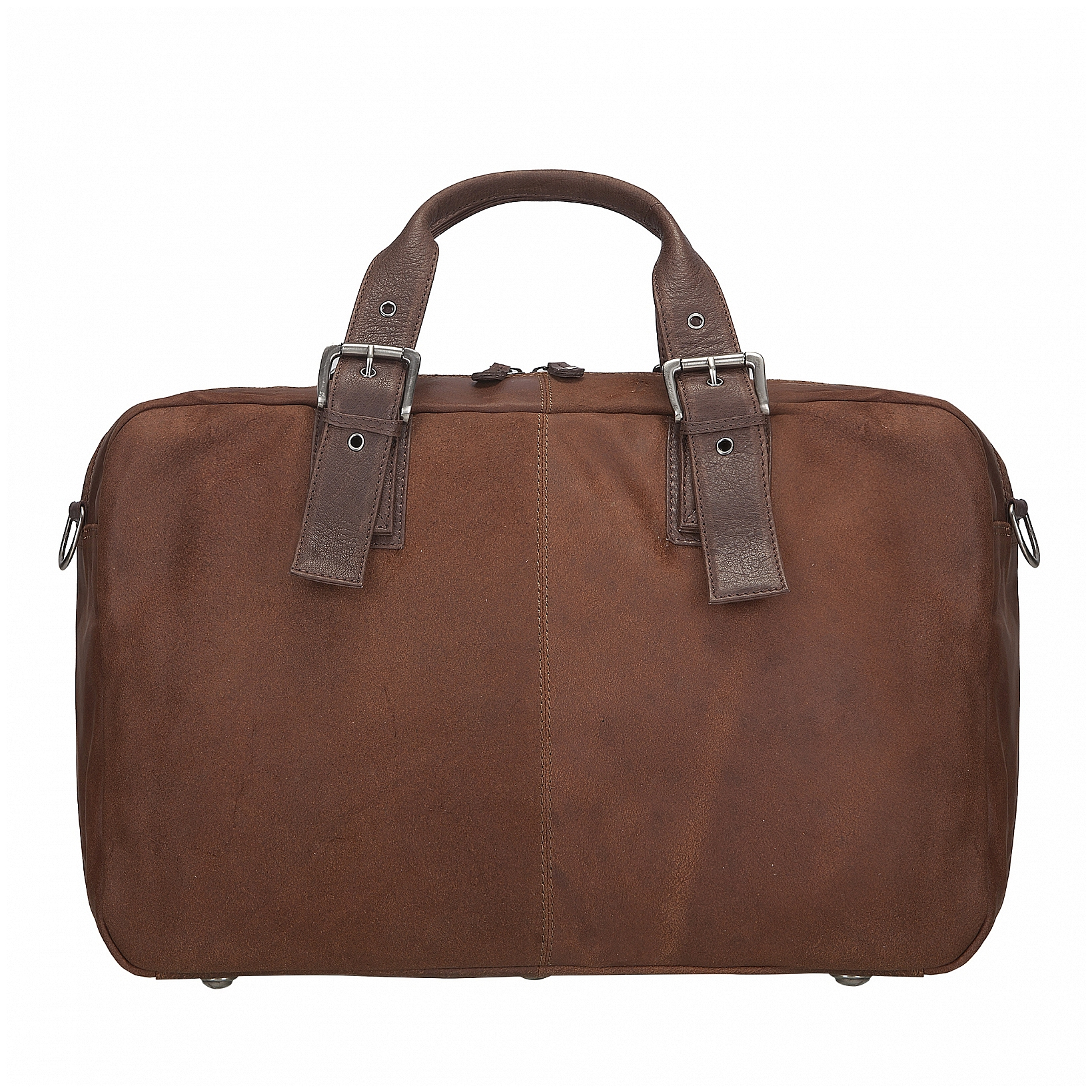 ESTELLE Cestovní taška z kůže 1299-03 hnědá