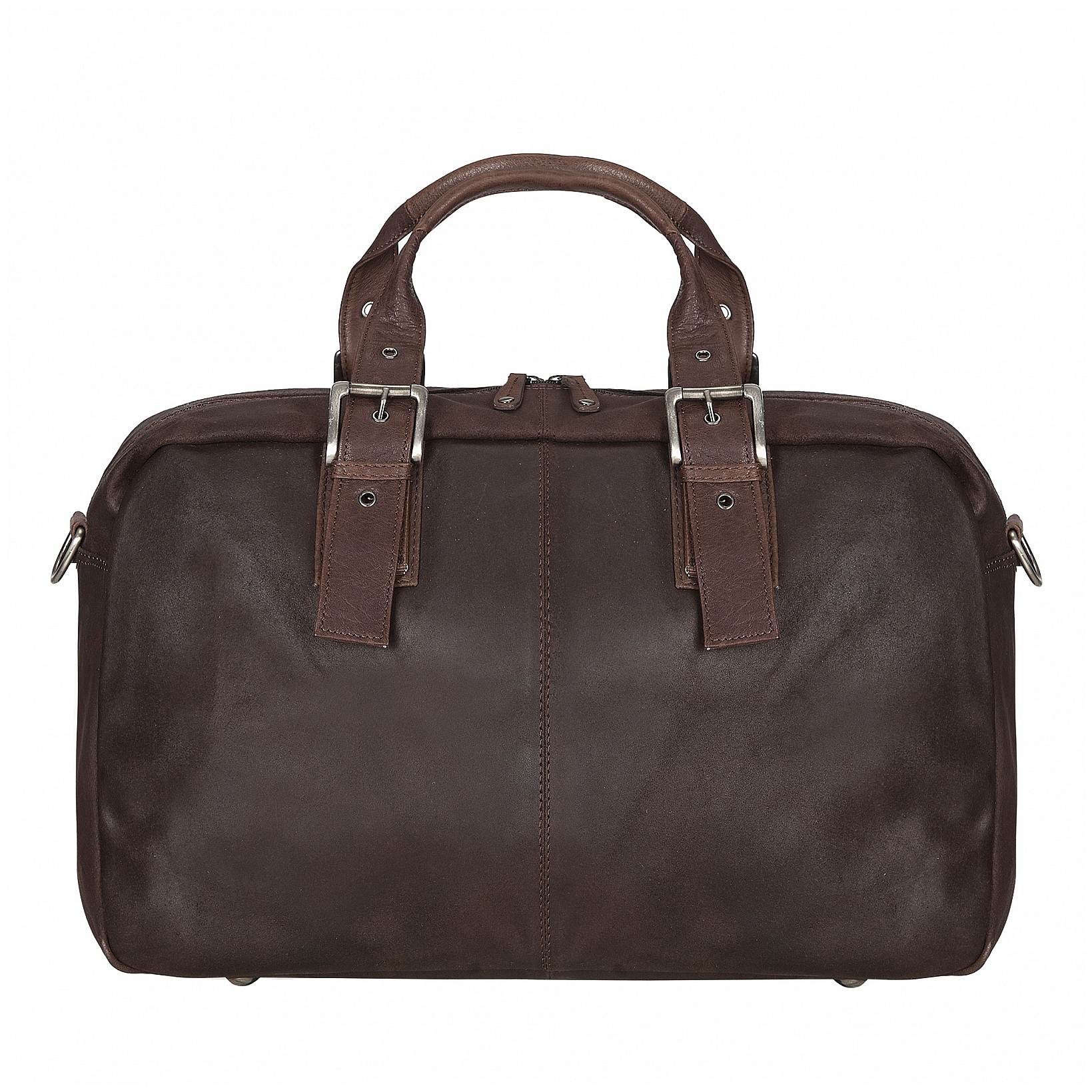 ESTELLE Cestovní taška z buvolí kůže 1299-04 tmavě hnědá