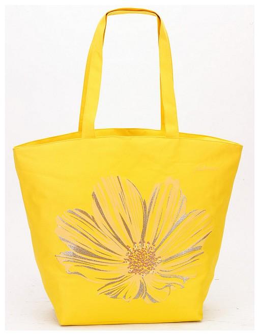 Fabrizio Letní taška - Plážová taška 50136-3200 žlutá - UNIVARO 6db81c42282